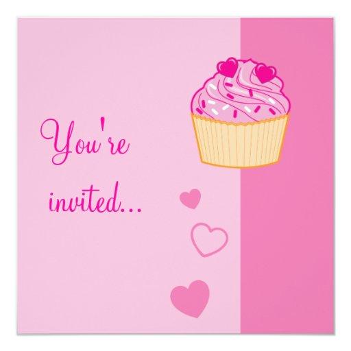 La fiesta de cumpleaños del dulce dieciséis con la invitación 13,3 cm x 13,3cm