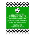 La fiesta de cumpleaños del fútbol embroma persona