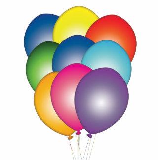 La fiesta de cumpleaños hincha la decoración de la fotoescultura vertical