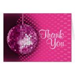 La fiesta de cumpleaños rosada del disco le agrade felicitación