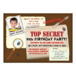 La fiesta de cumpleaños secretísima del espía del  comunicado personalizado