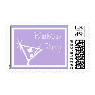 La fiesta de cumpleaños sella la púrpura violeta envio