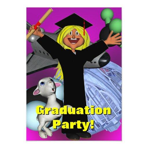 La fiesta de graduación invita comunicados