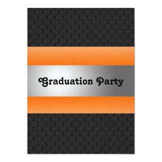 La fiesta de graduación invita invitacion personalizada