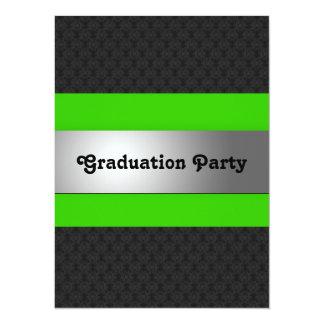 La fiesta de graduación invita invitacion personal