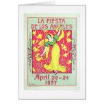 La Fiesta de Los Angeles 1897 Card