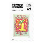 La Fiesta de Los Angeles 1897 Postage Stamps