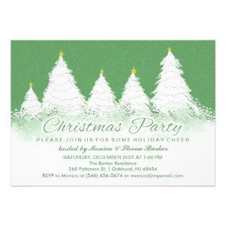La fiesta de Navidad invita a verde con los árbole