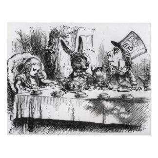 La fiesta del té 2 del sombrerero enojado cuadro