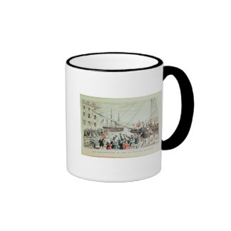 La fiesta del té de Boston, 1846 Taza