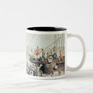 La fiesta del té de Boston, 1846 Taza De Café