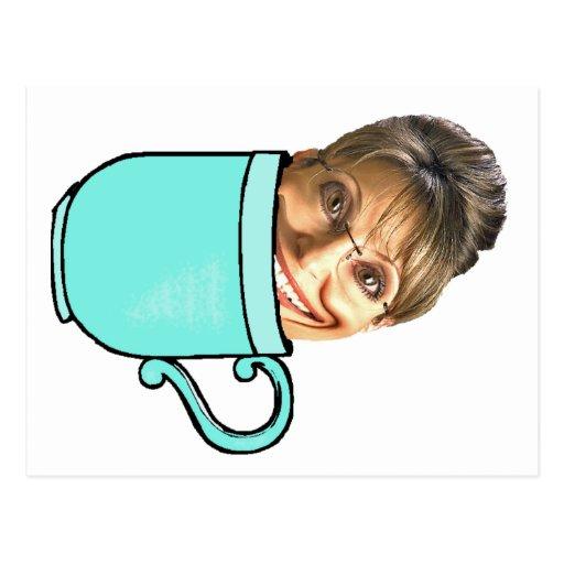 La fiesta del té de Palin Postal