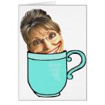 La fiesta del té de Palin Tarjetas
