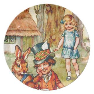 La fiesta del té del sombrerero enojado - Alicia e