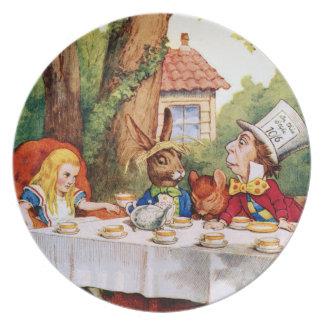 La fiesta del té del sombrerero enojado - Alicia e Plato