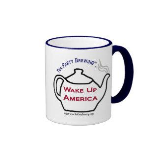La fiesta del té TP0101 despierta la taza de Améri