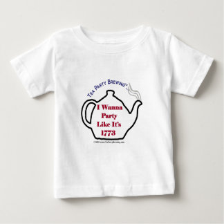 La fiesta del té TP0102 como ella es camiseta de Poleras