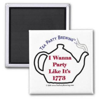 La fiesta del té TP0102 como ella es el imán 1773