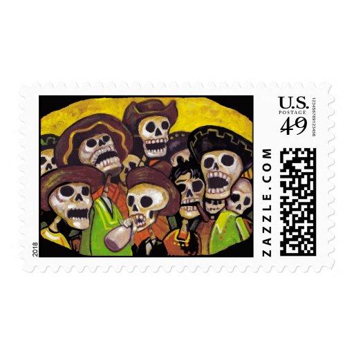 La Fiesta Stamp