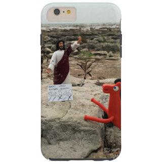 La figura de acción Jesús visita los Great Lakes Funda Resistente iPhone 6 Plus