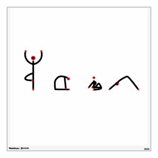 La figura del palillo de la yoga plantea YOGA del