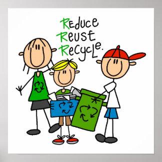 La figura del palillo reduce la reutilización reci póster