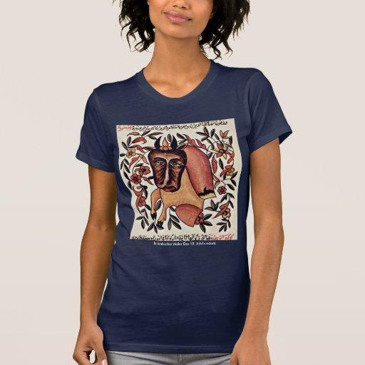 La figura tauro del zodiaco tee shirts