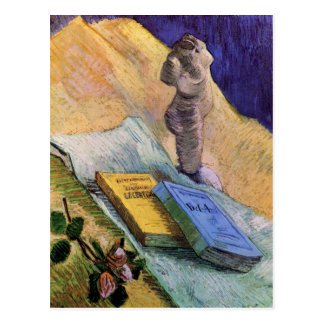La figurilla del yeso subió dos novelas Vincent va Postales