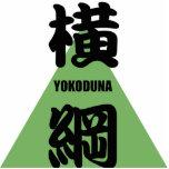 """La fila más alta de """"YOKODUNA"""" en negro del sumo Escultura Fotográfica"""