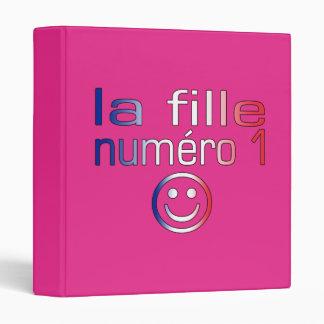 La Fille Numéro 1 - Number 1 Daughter in French Binder