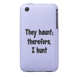 La filosofía del cazador del fantasma - fondo azul iPhone 3 cobreturas