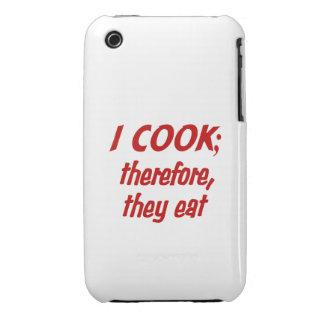 La filosofía del cocinero - elija su color de Case-Mate iPhone 3 carcasas