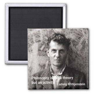 La filosofía no es una teoría pero… imán