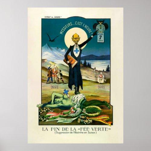 "La Fin de la ""Fée Verte"" posters"