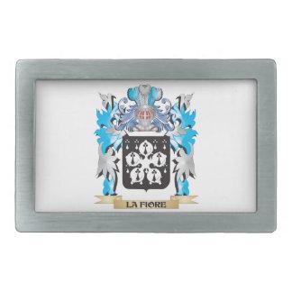La-Fiore Coat of Arms - Family Crest Belt Buckles