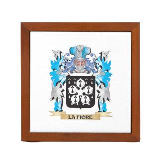 La-Fiore Coat of Arms - Family Crest Desk Organizers