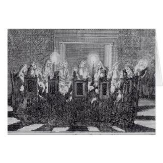 La firma del tratado de Utrecht Felicitación