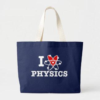 La física bolsa de tela grande