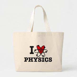 La física bolsas de mano