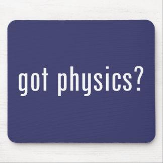 ¿la física conseguida tapetes de ratón