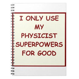 la física cuaderno