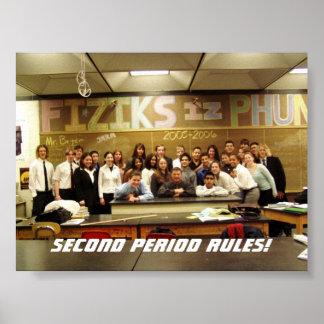 La física de los regentes póster