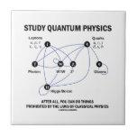 La física de Quantum del estudio usted puede hacer Tejas Ceramicas