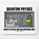 La física de Quantum donde la física y la metafísi Mousepad