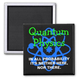 La física de Quantum Imanes