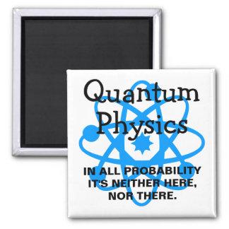 La física de Quantum Imán Para Frigorífico