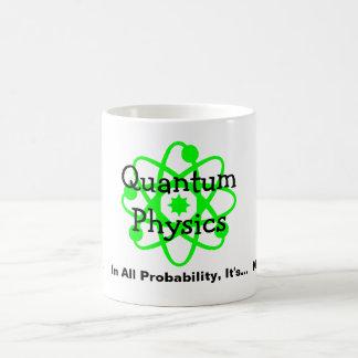 La física de Quantum Taza Clásica