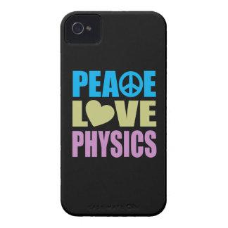 La física del amor de la paz iPhone 4 cobertura