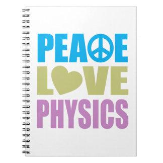 La física del amor de la paz libros de apuntes