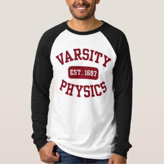 La física del equipo universitario playera